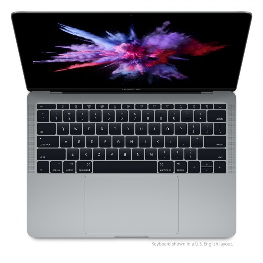"Refurbished Apple MacBook Pro Retina, 2.5GHz dual-core Intel Core i7, 16GB Ram, 1TB SSD, 13.3"", Space Grey (2017) A"