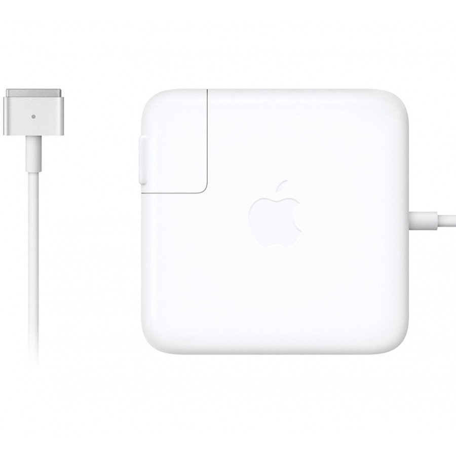 Refurbished Genuine Apple Macbook Pro Retina 60-Watts 2012 Magsafe 2 Power Adapter, A - White