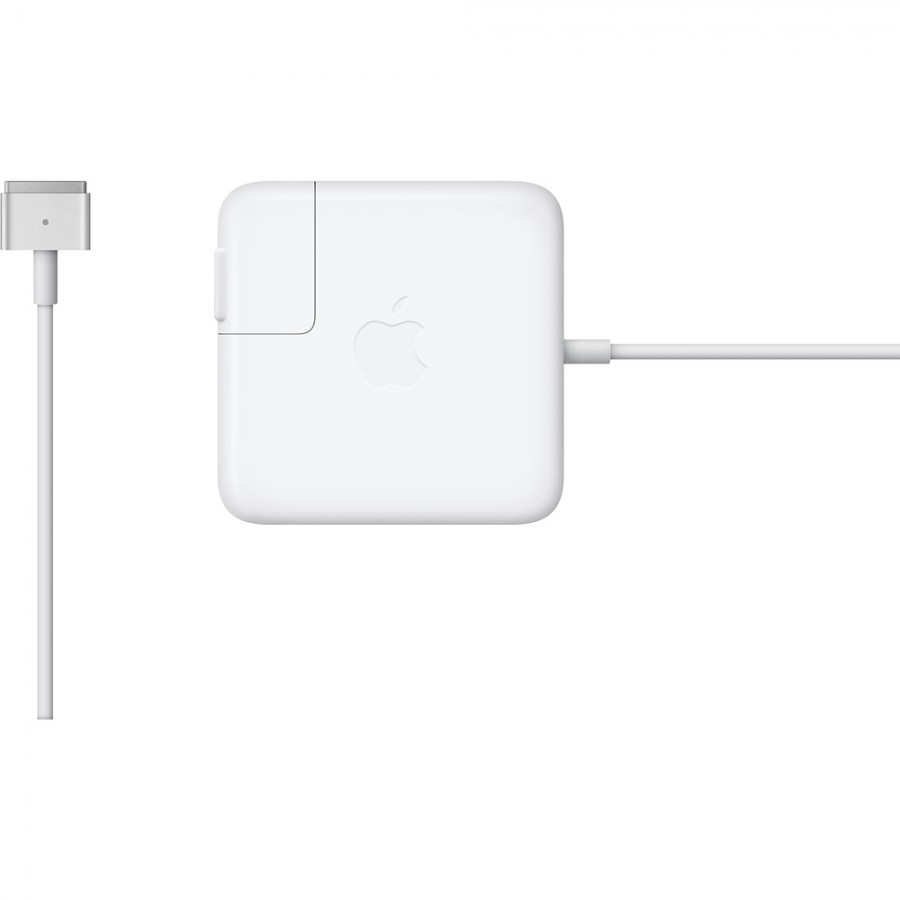 """Refurbished Apple Genuine Macbook Air 13"""" (MD760 , MD761) Magsafe 2 Charger Power Adapter, A - White"""