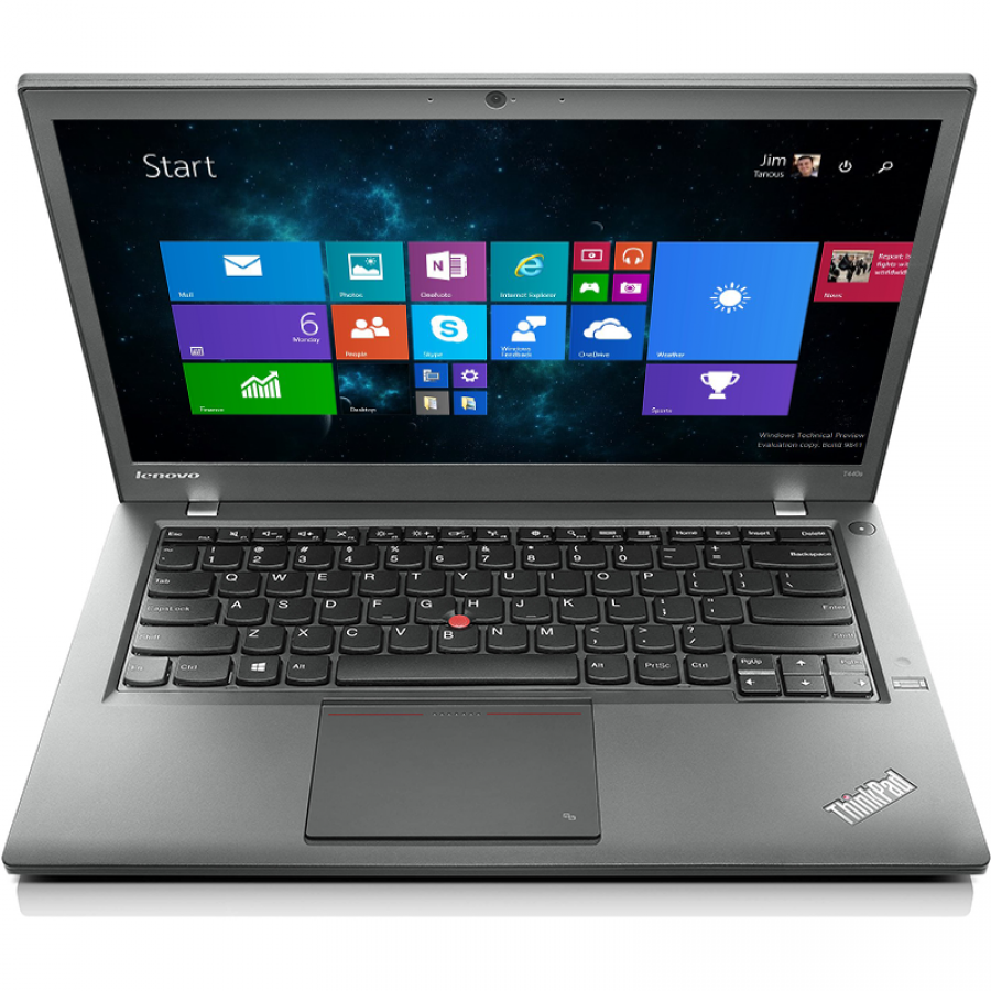 "Refurbished Lenovo ThinkPad T440s/i5-4300U/4GB RAM/500GB HDD/14""/Windows 10 Pro/B"
