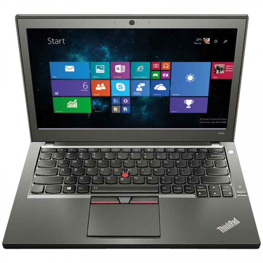 "Refurbished Lenovo ThinkPad X260/i5-6200U/8GB RAM/240GB SSD/12.5""/Windows 10 Pro/A"
