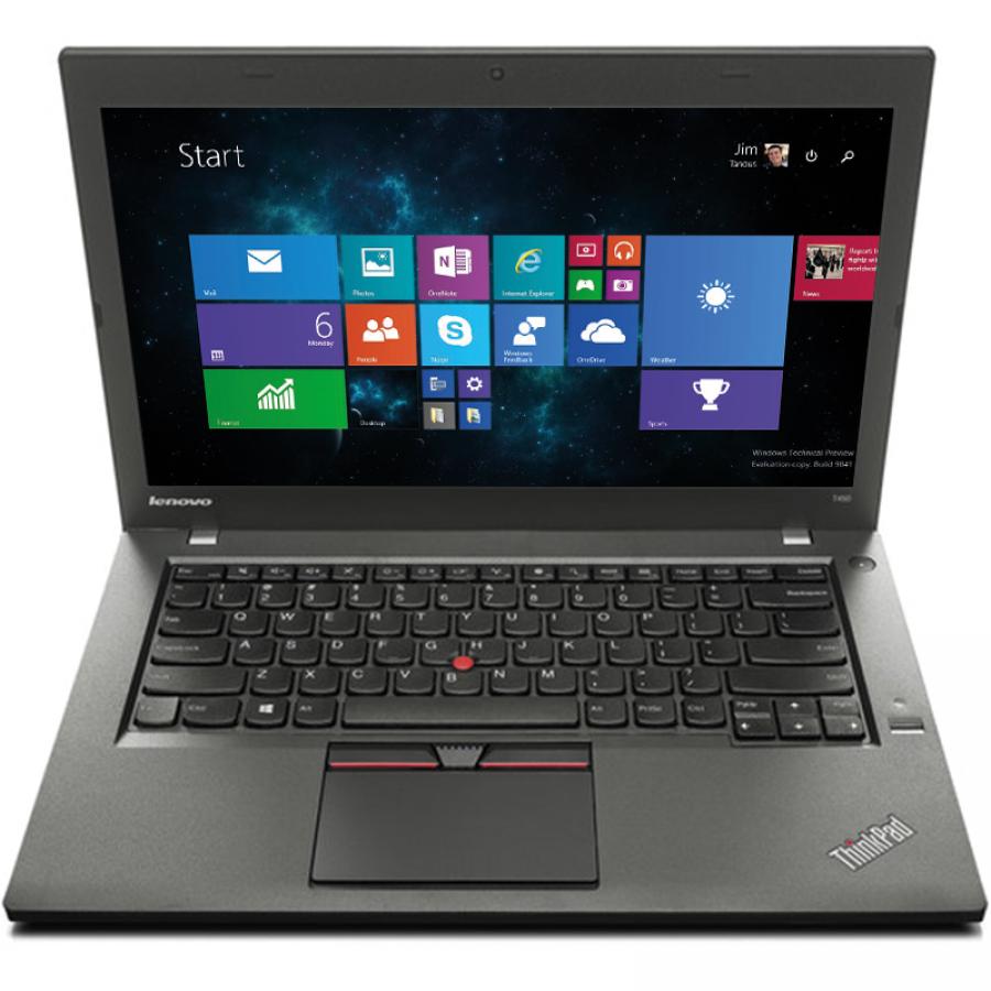 "Refurbished Lenovo ThinkPad T450/i5-5200U/8GB RAM/240GB SSD/14""/Windows 10 Pro/B"