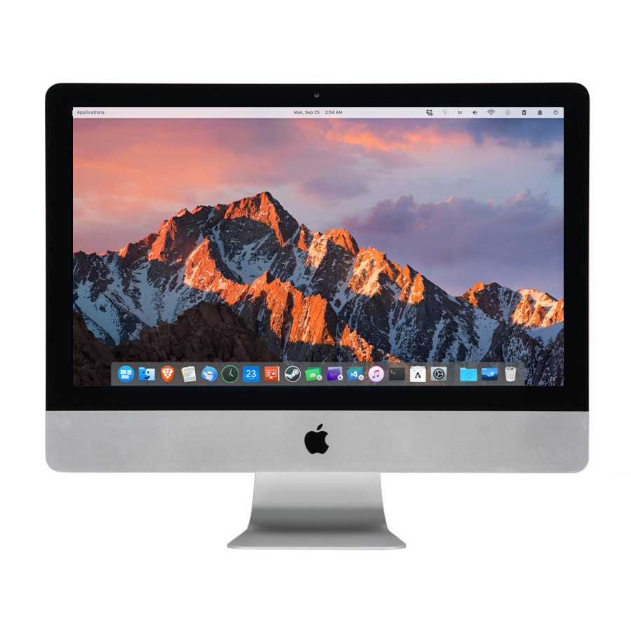 Refurbished Apple iMac 16,2 Intel Core i5-5675R, 8GB RAM, 500GB HDD, 21.5-Inch 4k Display (Late 2015), B