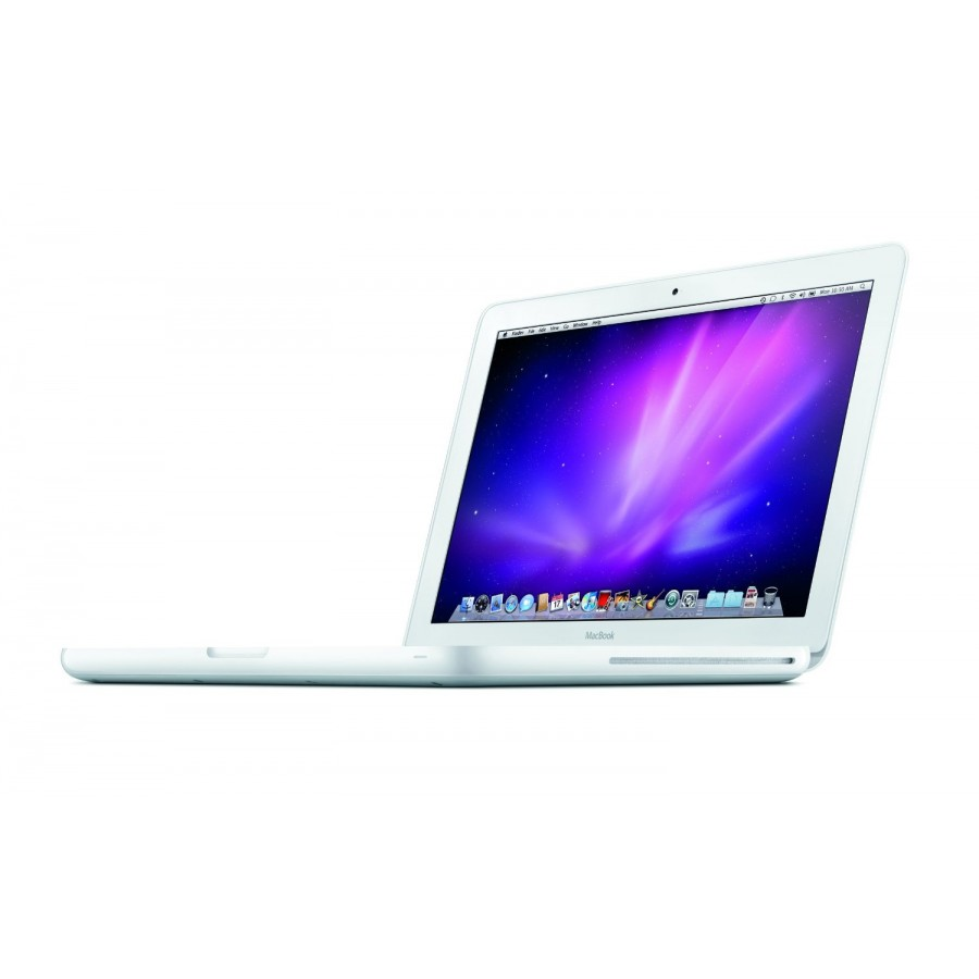 "Refurbished Apple MacBook 7,1/P8600/2GB RAM/250GB HDD/DVD-RW/320M/13""/White/C"