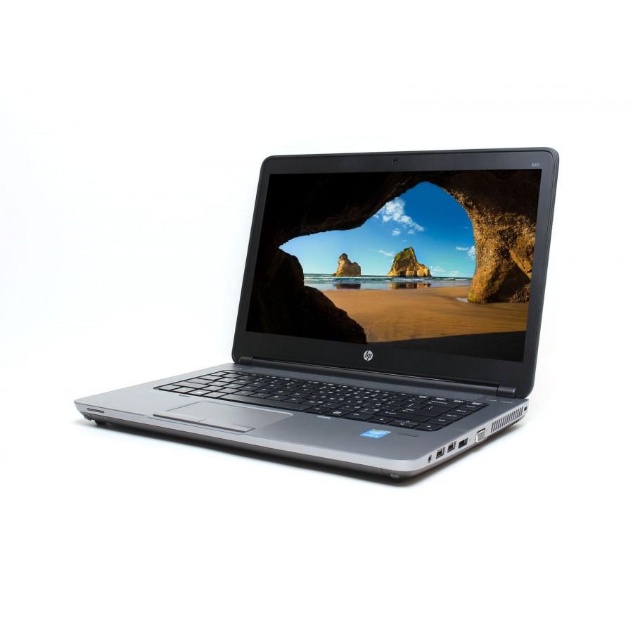 "Refurbished HP ProBook 640 G1/i5-4200M/4GB RAM/500GB HDD/DVD/14""/Windows 10 Pro/ A"