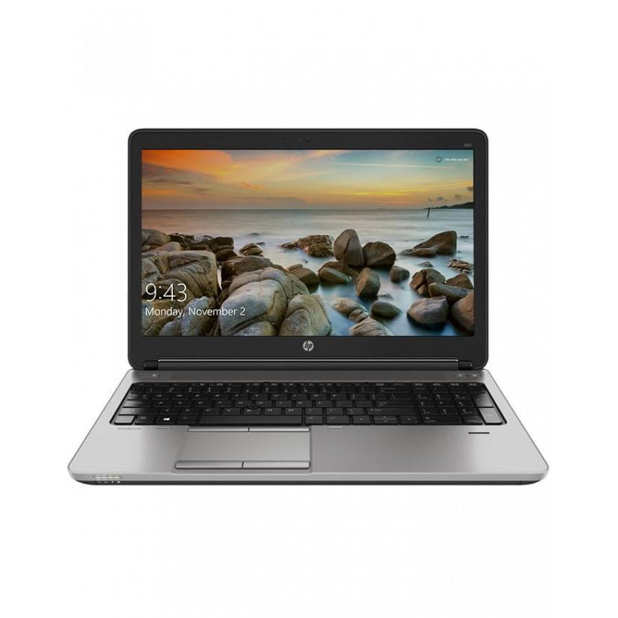 "Refurbished HP 650-G1/i5-4300M/4GB Ram/500GB HD/DVD-RW/15""/Windows 10/B"