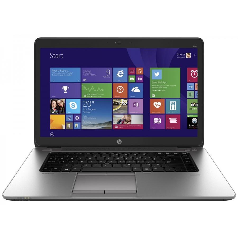 "Refurbished HP EliteBook 850 G2/i5-5200U/8GB RAM/500GB HDD/15.6""/Windows 10 Pro/A"