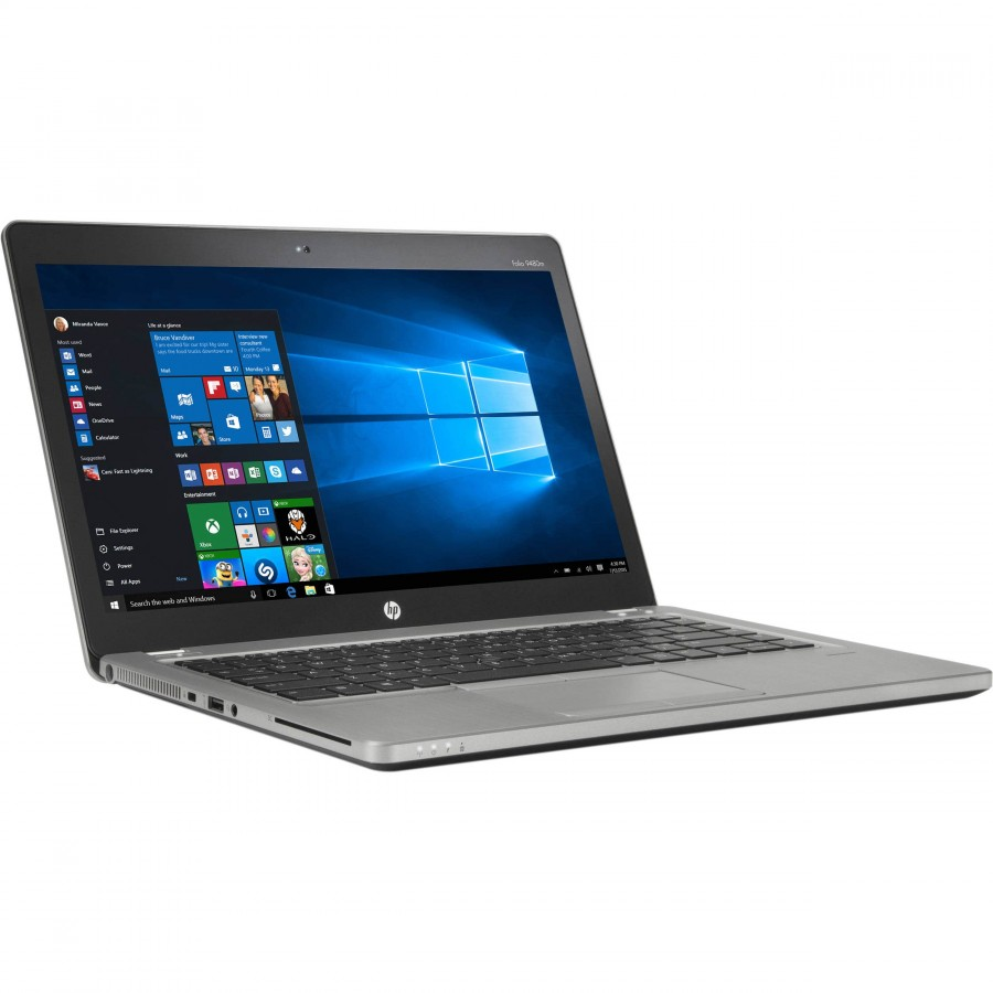 "Refurbished HP EliteBook Folio 9480m/i7-4600U/8GB RAM/250GB SSD/14""/Windows 10 Pro/A"