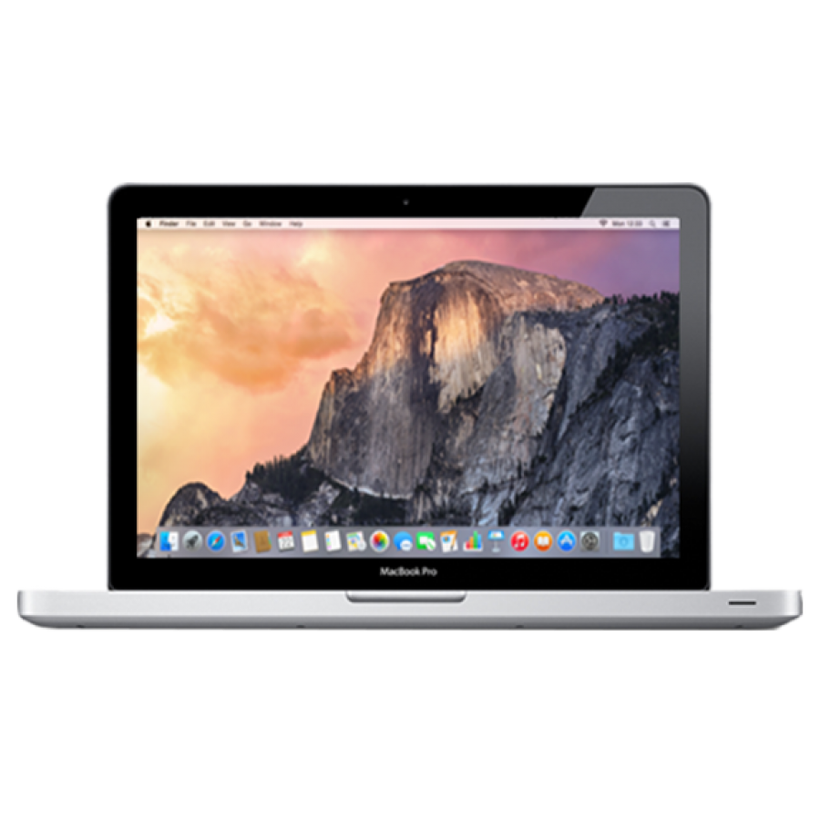 Refurbished Apple MacBook Pro 13-inch, i5-2435M, 8GB RAM, 256GB SSD, Intel HD 3000, A, (Early - 2011)
