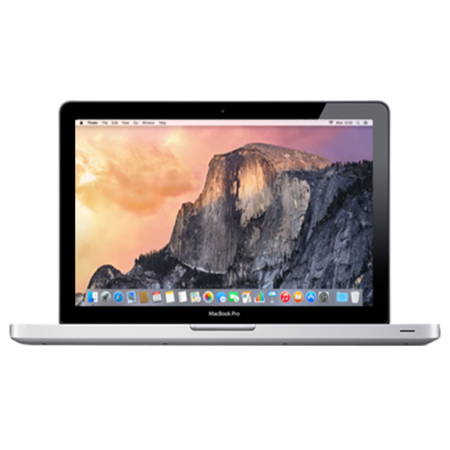 Refurbished Apple MacBook Pro 13-inch, i5-2435M, 8GB RAM, 256GB SSD, Intel HD 3000, A, (Early - 2011)