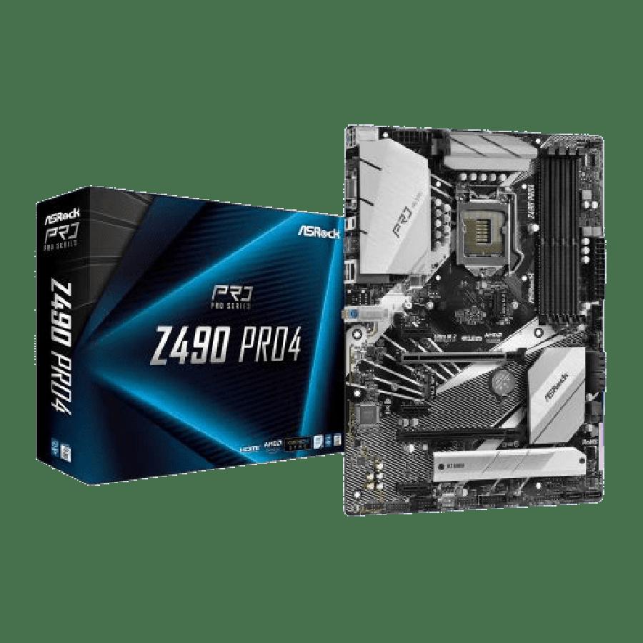 Asrock Z490 PRO4, Intel Z490, 1200, ATX, 4 DDR4, XFire, VGA, HDMI, M.2