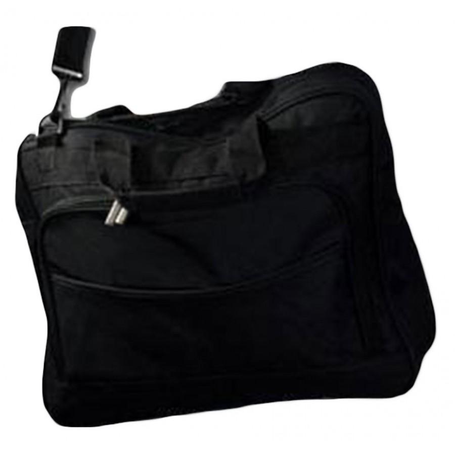 Black Laptop Bag - Up to 15.5 inch - Shoulder Strap - Fabric