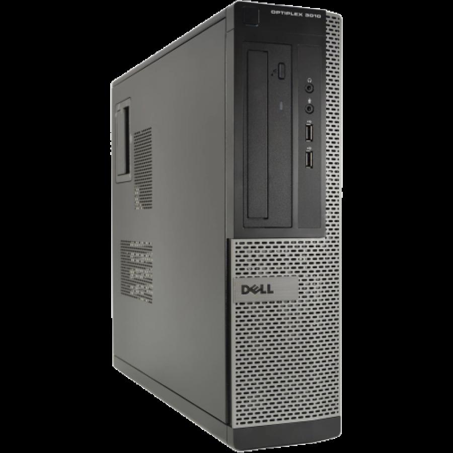 Refurbished Dell Optiplex 3010 DT/i3-2120/4GB RAM/500GB HDD/DVD-RW/Windows 10/B