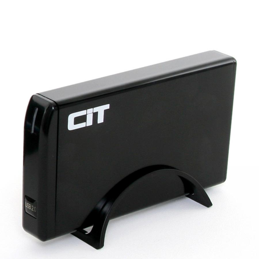 """CiT 3.5"""" USB 2.0 SATA + IDE HDD Enclosure U35SPA"""