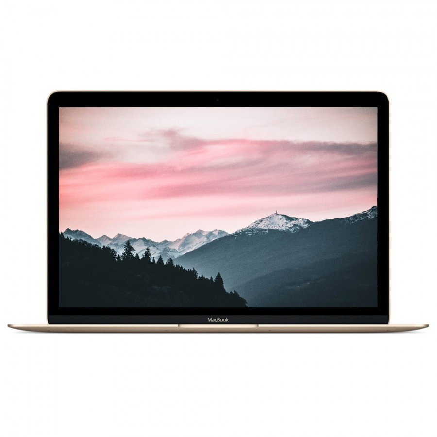 "Refurbished Apple Macbook 8,1/M-5Y71/8GB RAM/512GB SSD/12""/RD/OSX/Gold/A+ (Early 2015)"