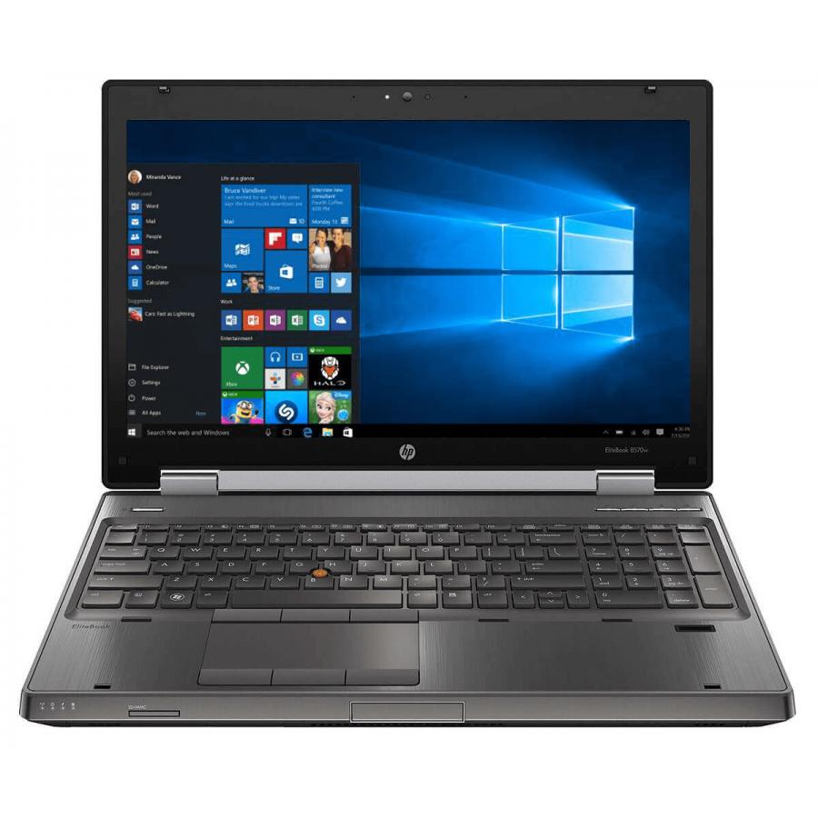 Refurbished HP 8570w/i7-3720QM/8GB RAM/500GB HDD/15.6/NVIDIA Quadro K2000M/Windows 10 Pro/B