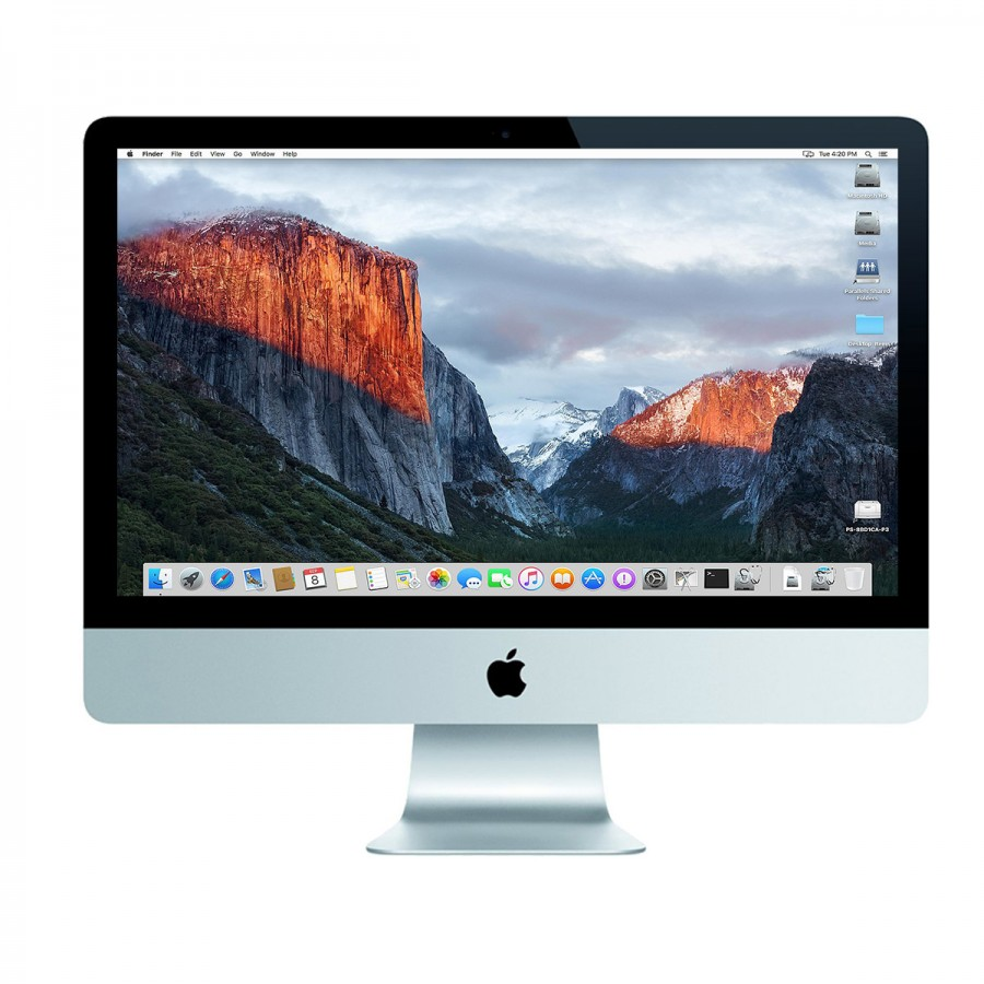 "Refurbished Apple iMac 14,3/i7-4770S/8GB RAM/256GB SSD/750M/21""/B - (Late 2013)"