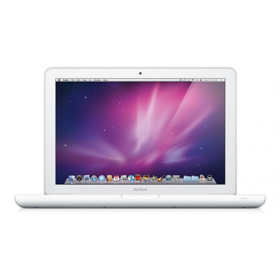 "Refurbished Apple MacBook 13.3"", Core 2 Duo, 250GB HDD, 4GB RAM, GeForce 9400M, B"