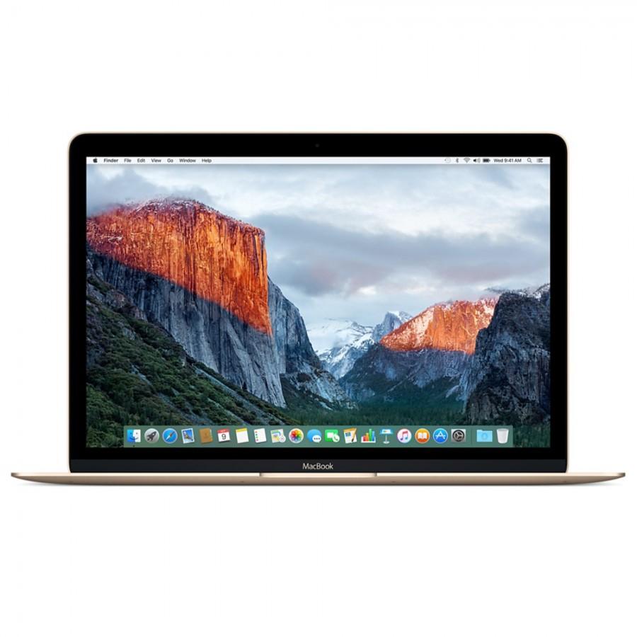 "Refurbished Apple MacBook 12"", Intel Core M 1.1Ghz, 256GB Flash, 8GB RAM, Intel HD 5300 (Early 2015) - Gold, A"