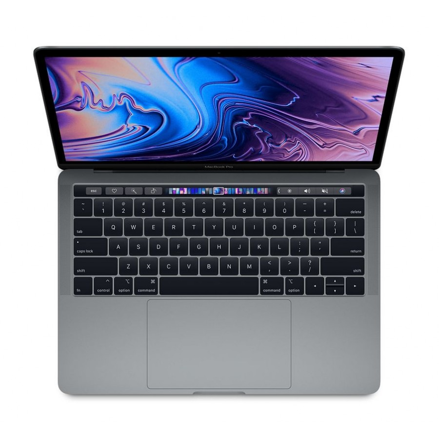 "Refurbished Apple MacBook Pro ""Core i5"" 2.3Ghz 13"" 16GB RAM, 256GB SSD, Intel Iris Plus Graphics 655 Space Grey - (Mid-2018), A+"