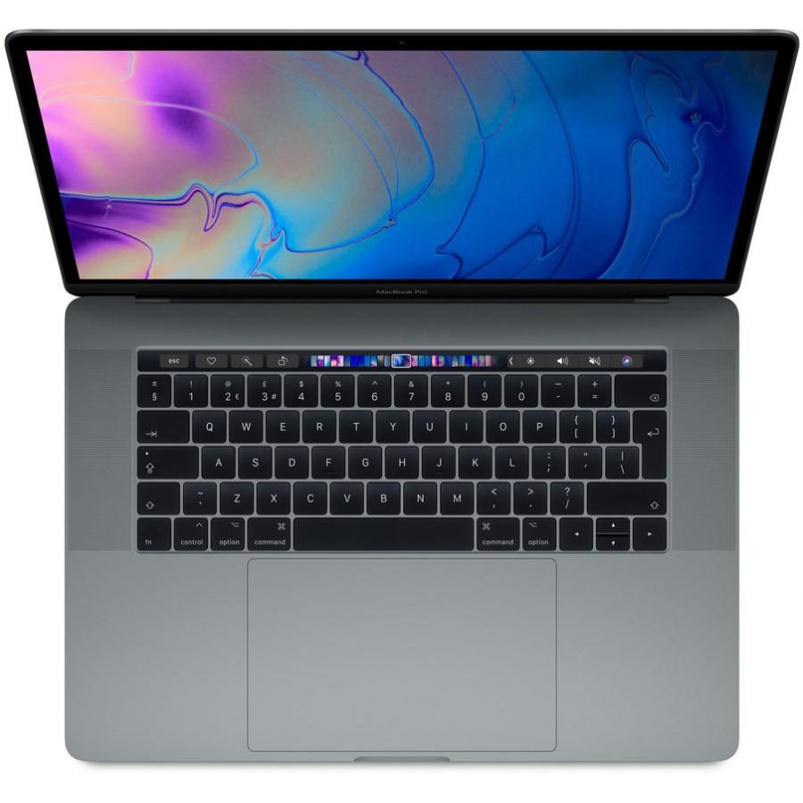 "Refurbished Apple Macbook Pro Retina 15.4"", i7 6 Core 2.2Ghz, 16GB RAM, 256GB SSD, Radeon Pro 555X, Space Grey - (Mid-2018), A+"