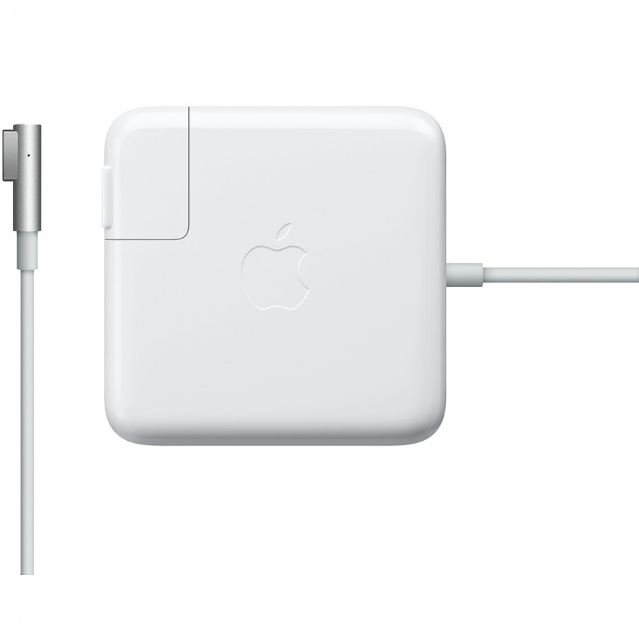 Refurbished Genuine Apple Macbook Pro 85-Watts MagSafe (A1286) Power Adapter, A - White