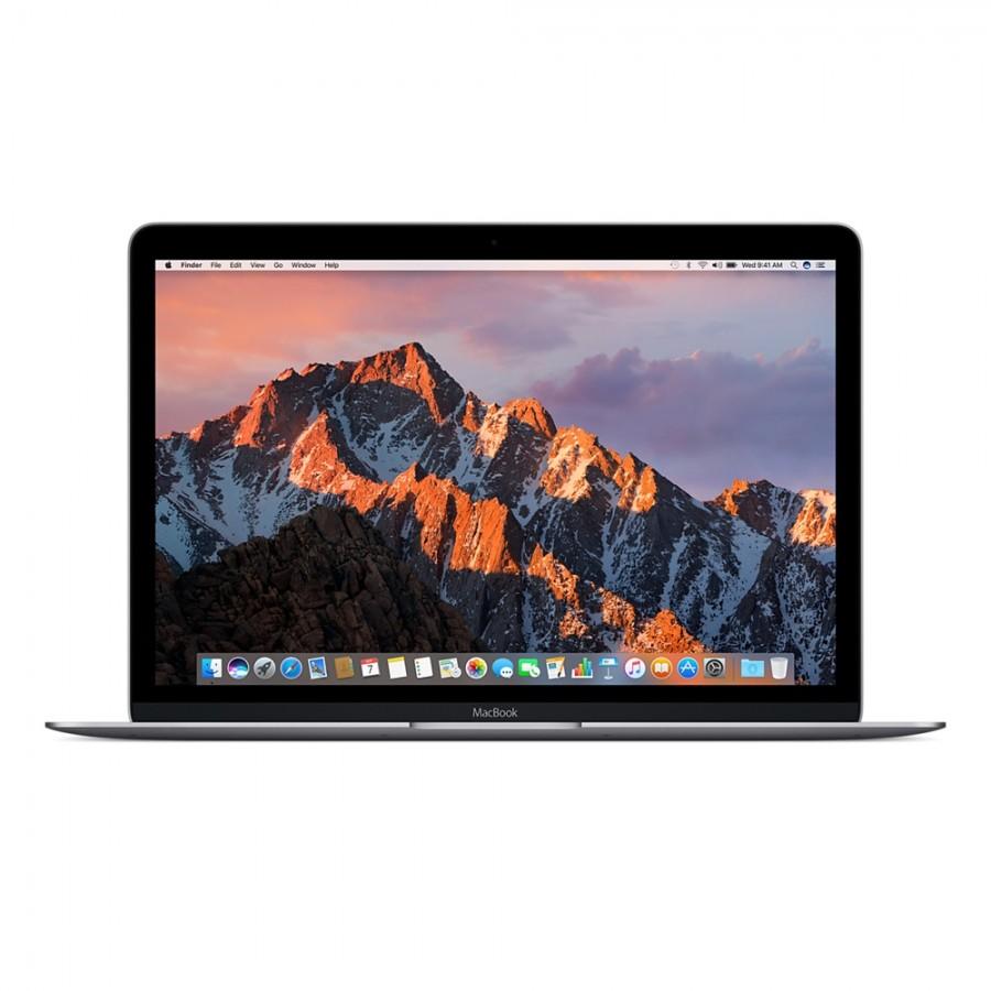 """Refurbished Apple Macbook 10,1/M3-7Y32/8GB RAM/256GB SSD/12""""/RD/Space Grey/A (Mid-2017)"""