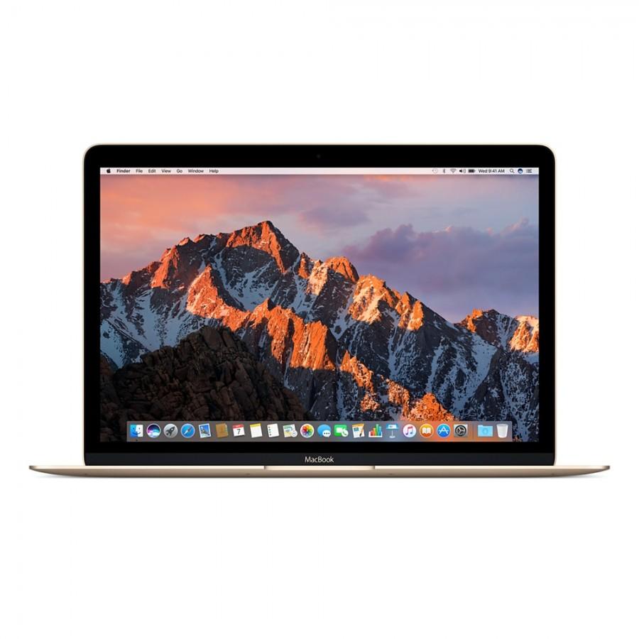 "Refurbished Apple MacBook 12"", Intel Core m3 1.2GHz Dual Core, 256GB SSD, 8GB RAM, (Mid-2017) Gold, A"