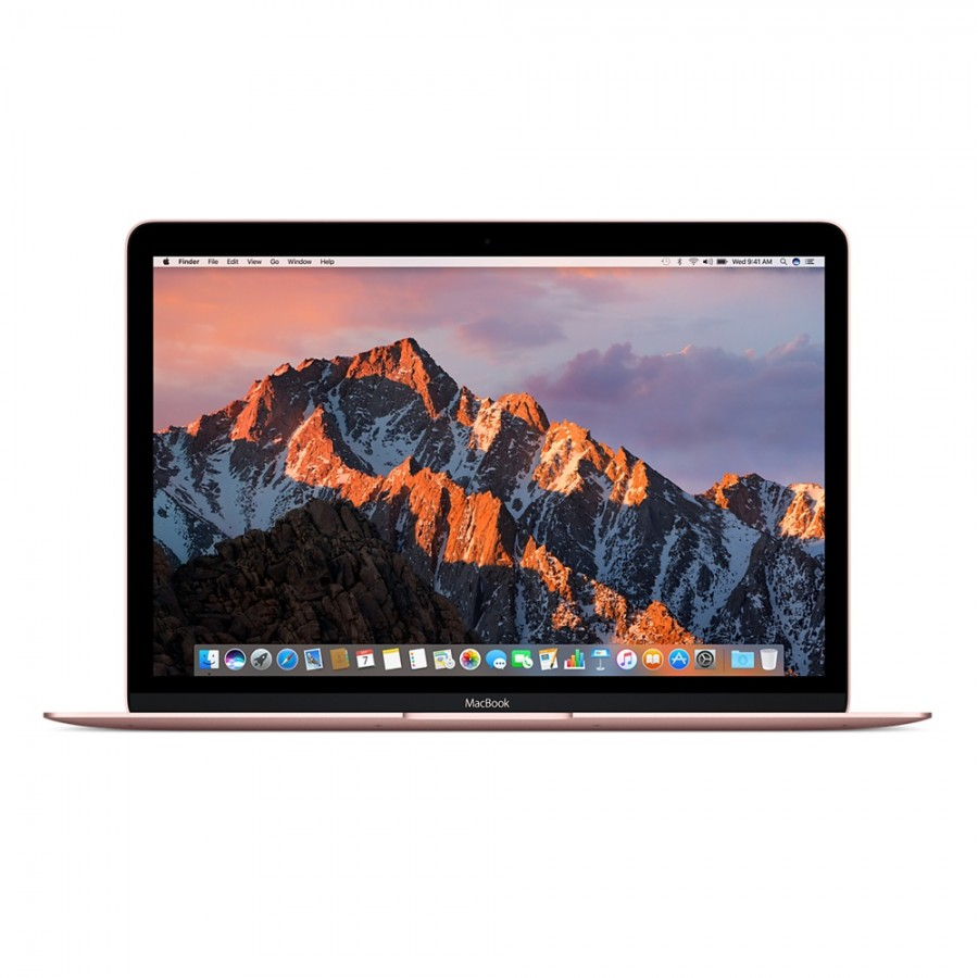 "Refurbished Apple MacBook 12"", Intel Core m3 1.2GHz Dual Core, 256GB SSD, 8GB RAM, (Mid-2017) Rose Gold, A"