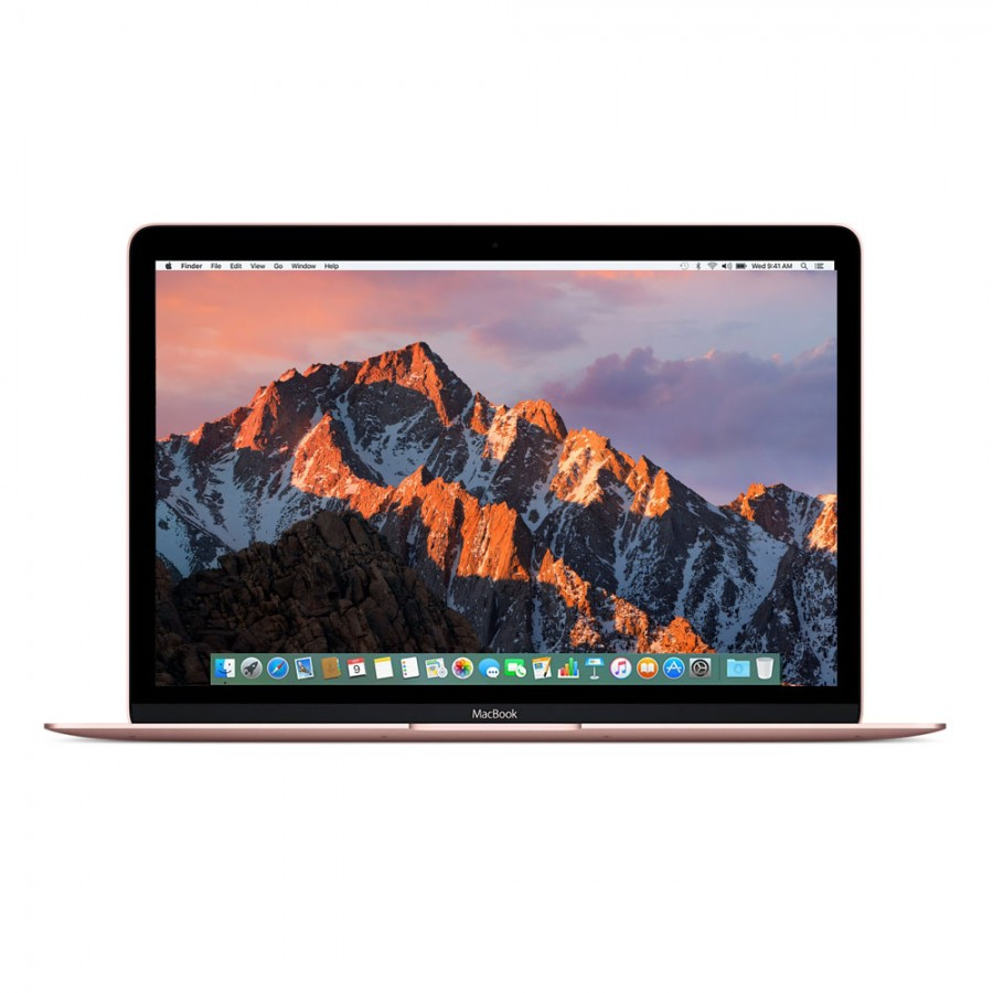 "Refurbished Apple Macbook 9,1/M5-6Y54/8GB RAM/512GB SSD/12""/RD/Rose Gold/A (Early-2016)"