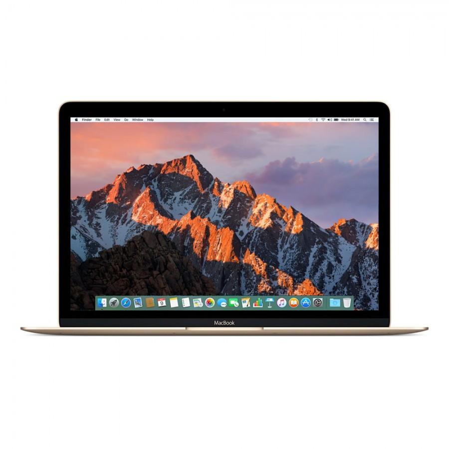 """Refurbished Apple Macbook 9,1/M7-6Y75/8GB RAM/512GB SSD/12""""/RD/Gold/A (Early-2016)"""