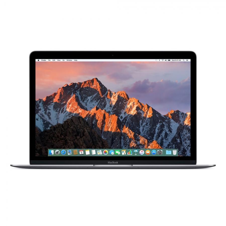 """Refurbished Apple Macbook 9,1/M7-6Y75/8GB RAM/256GB SSD/12""""/RD/OSX/Space Grey/B (Early-2016)"""
