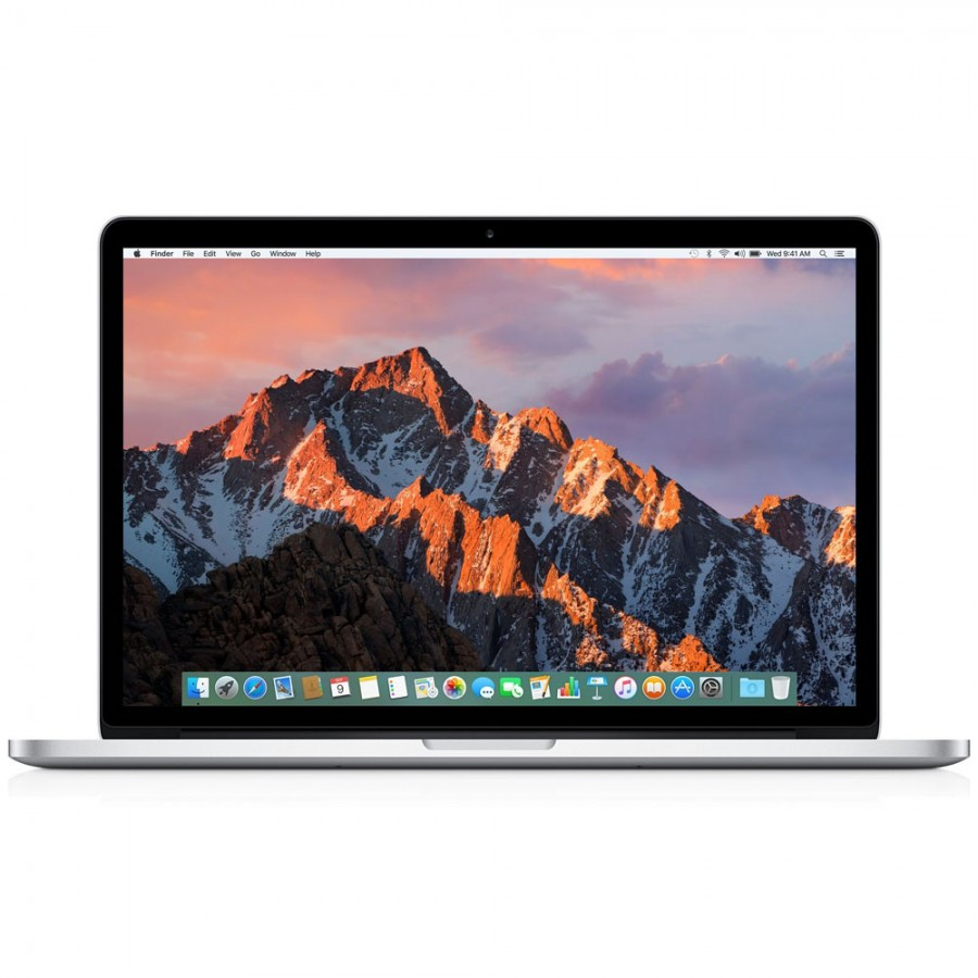 "Refurbished Apple Macbook Pro 11,4/i7-4770HQ/16GB RAM/256GB SSD/15"" RD/B (Mid 2015) Silver"