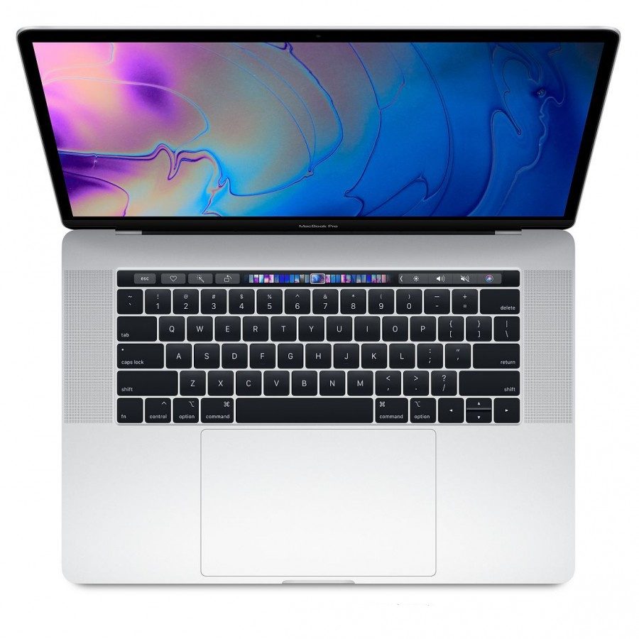 "Refurbished Apple Macbook Pro 15,1/i7-9750H/16GB RAM/512GB SSD/555X 4GB/Touchbar/15""/B Silver  (Mid - 2019)"