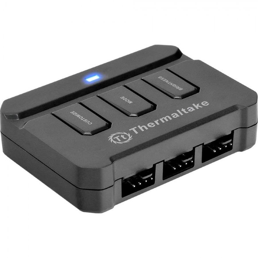 Thermaltake Lumi Color 256C RGB Magnetic LED Strip Control Pack - Black