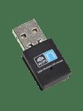 Jedel 300Mbps Wireless N Nano USB Adapter - Black