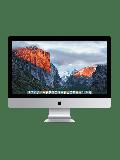 Refurbished Apple iMac 17,1/i7-6700K/16GB RAM/1TB Fusion Drive/AMD R9 M395/27-inch 5K RD/A (Late - 2015)