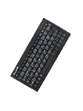 Keysonic ACK-3400U USB Wired Mini Keyboard - Black