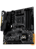 Asus TUF B450M-PLUS GAMING, AMD B450, AM4, Micro ATX, 4 DDR4, XFire, DVI, HDMI, M.2, RGB Lighting