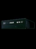 Asus (BW-16D1HT) Blu-Ray Writer, 16x, SATA, BDXL & M-Disc Support, Cyberlink Power2Go 8 - Black