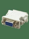 Spire DVI-I Male to VGA Female Converter Dongle - White