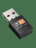 Jedel AC600 (433+150) Wireless Dual Band Nano USB Adapter - Black