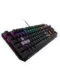 Asus ROG STRIX SCOPE Mechanical RGB Gaming Keyboard, Cherry MX Red, Stealth Key, Aluminium Frame, Aura Sync - Black