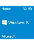 Microsoft Windows 10 Home 32-bit, OEM DVD, Single Copy