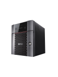 Buffalo 8TB TeraStation 3410DN Business Class NAS Drive, (4 x 2TB), RAID 0, 1, 5, 6, 10, JBOD, NovaBACKUP, Hot Swap