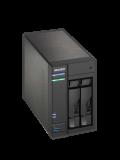 ASUSTOR AS6102T 2-Bay NAS Enclosure (No Drives), Dual Core CPU, 2GB DDR3L, HDMI, Dual GB LAN, USB3