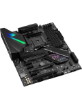 Asus ROG STRIX X470-F GAMING, AMD X470, AM4, ATX, DDR4, HDMI, DP, SLI/XFire, Dual M.2, RGB Lighting