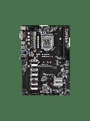 Asrock H110 PRO BTC+, Intel H110, 1151, ATX, Designed for Crypto Mining, 1 x PCIe3.0 x16, 12 x PCIe2.0 x1