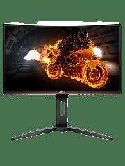 Brand New AOC C32G1 32-inch Widescreen VA LED Curved Monitor Black/Red (1920x1080/1ms/VGA/2xHDMI/DP)