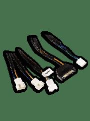 Akasa 30CM FLEXA FP3S PWM Fan Splitter Cable 3 Fans from 1 PWM Port, SATA